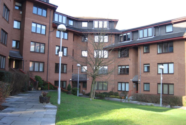 Thumbnail Flat to rent in Julian Court Kelvinside, Kelvinside