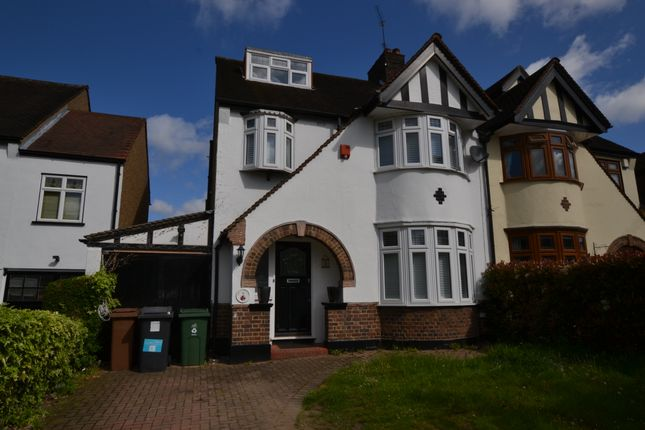Thumbnail Semi-detached house to rent in Holly Crescent, Woodford Green