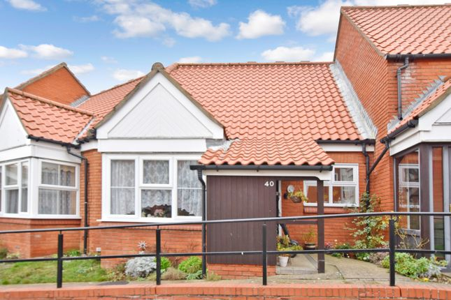 Thumbnail Terraced bungalow for sale in Ashdown Court, Cromer