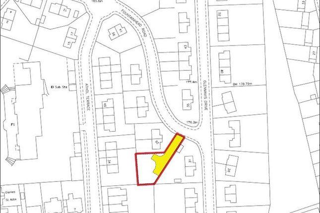 Plot Boundaries of Fountainhead Road, Bathgate EH48