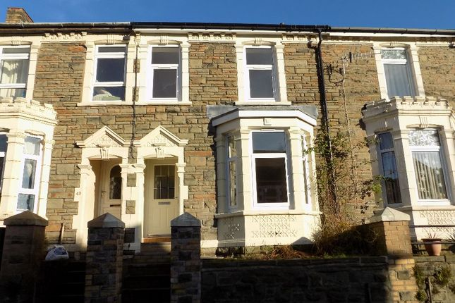 Thumbnail Terraced house for sale in Queen Street, Abertillery