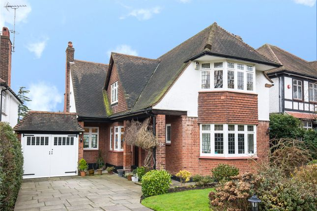 Thumbnail Detached house for sale in Bourne Avenue, Southgate