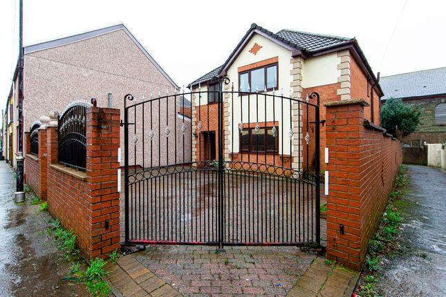 Thumbnail Detached house for sale in Alana Croft, Perrott Street, Treharris