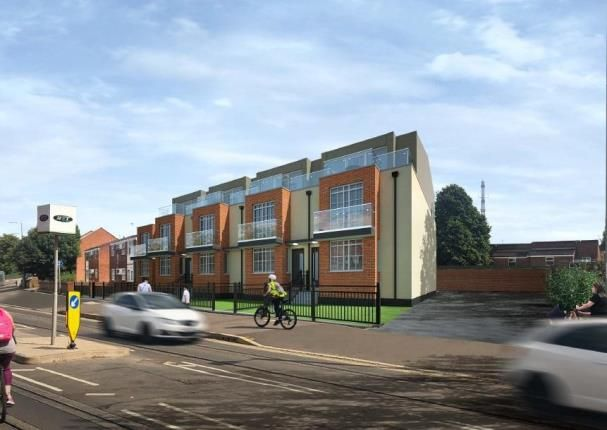 Thumbnail End terrace house for sale in Sky Heights, Gregory Street, Nottingham