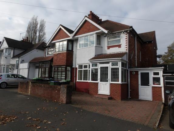 Thumbnail Semi-detached house for sale in Hugh Road, Smethwick, Birmingham, West Midlands