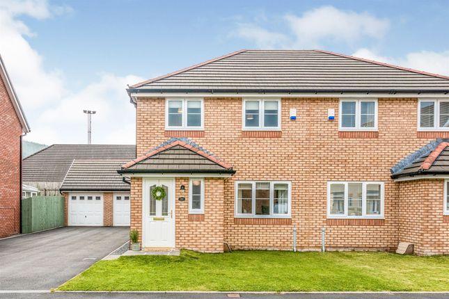 Thumbnail Semi-detached house for sale in Heol Ty Aberaman, Aberaman, Aberdare