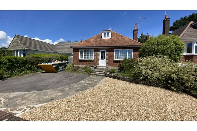 Thumbnail Detached bungalow for sale in Evering Avenue, Poole