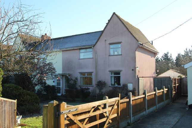 2 bed semi-detached house for sale in Songers Cottages, Dedham Road, Boxted, Colchester