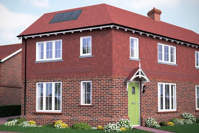 Thumbnail Semi-detached house for sale in Wantley Hill Estate, Henfield