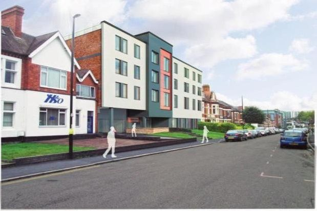 Thumbnail Flat to rent in Queens Road, Coventry