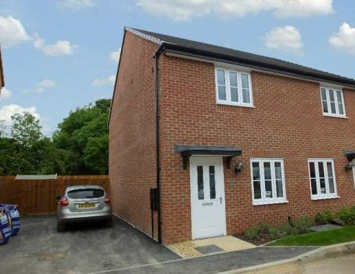 Thumbnail Semi-detached house to rent in Great Northern Gardens, Bourne, Lincolnshire