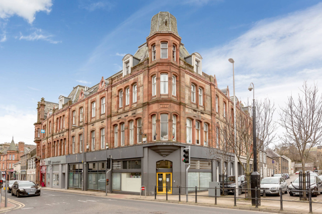 Thumbnail Flat to rent in 141 High Street, Galashiels