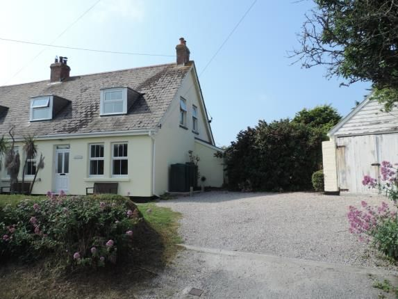 Thumbnail Semi-detached house for sale in St Merryn, Nr Padstow, Cornwall