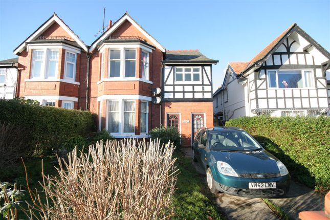 Thumbnail Flat for sale in Whitehall Road, Rhos On Sea, Colwyn Bay