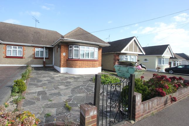 Thumbnail Semi-detached bungalow for sale in Warwick Road, Rayleigh