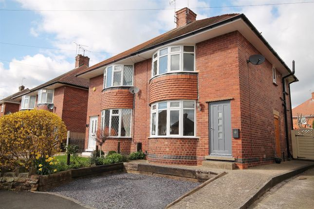 Thumbnail Semi-detached house for sale in Orchard View Road, Ashgate, Chesterfield