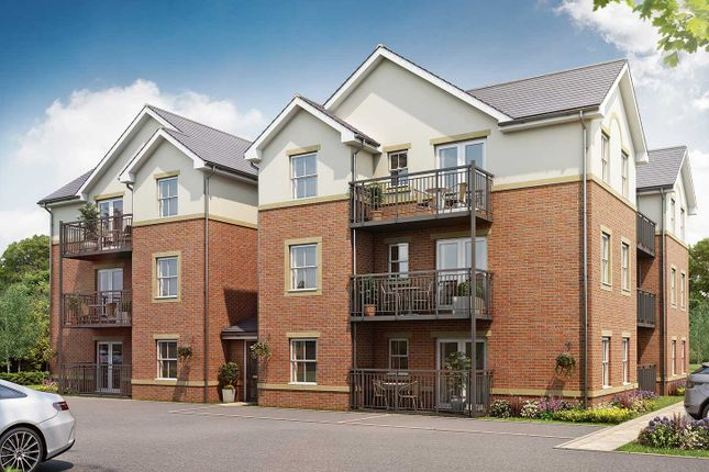 "Thumbnail Flat for sale in ""The Apartments A - First Floor 2 Bed"" at Malthouse Way, Penwortham, Preston"