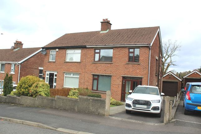 Thumbnail Semi-detached house to rent in Glendale Avenue North, Belfast