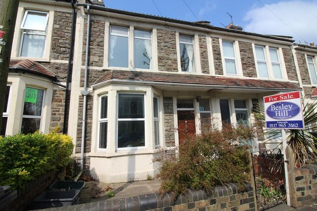 3 bed terraced house for sale in Parnall Road, Fishponds, Bristol