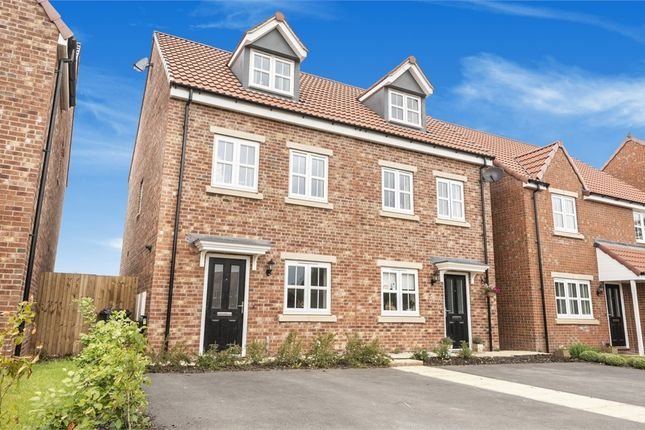 3 bed semi-detached house for sale in Cowstail Lane, Tockwith, York YO26