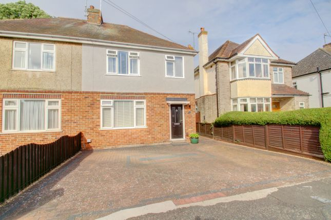 Thumbnail Semi-detached house for sale in Harvey Road, Rushden