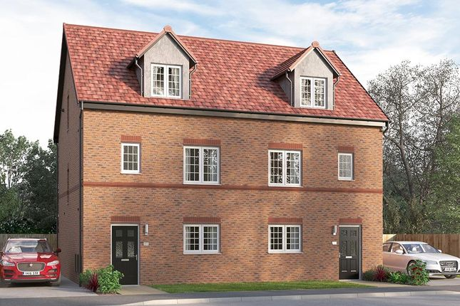 "Thumbnail Semi-detached house for sale in ""The Ulbridge End"" at Steeplechase Way, Market Harborough"