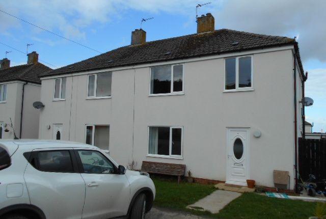 Thumbnail Semi-detached house for sale in Lancaster Crescent, St. Eval, Wadebridge