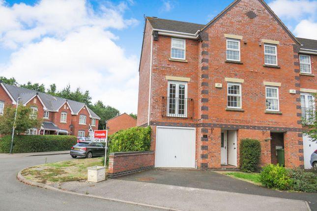Thumbnail End terrace house for sale in Hammond Green, Wellesbourne, Warwick