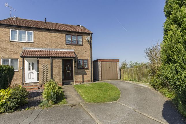 Thumbnail Semi-detached house for sale in Birch Kiln Croft, Brimington, Chesterfield