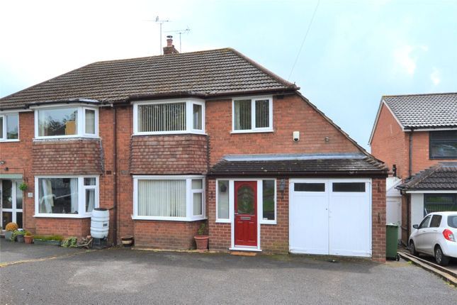 Thumbnail Semi-detached house for sale in Romsley Close, Rubery, Birmingham