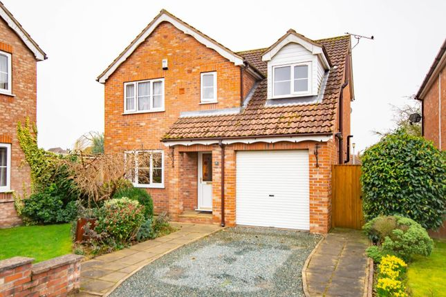 4 bed detached house for sale in Kings Lea, North Duffield, Selby YO8