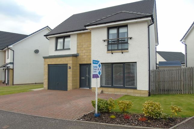 Thumbnail Detached house for sale in Cypress Road, New Stevenson, Motherwell, North Lanarkshire