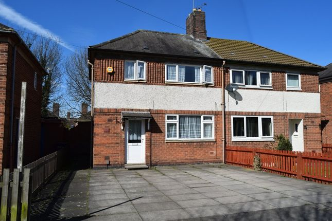 Thumbnail Semi-detached house to rent in Victoria Road East, Off Gypsy Lane, Leicester