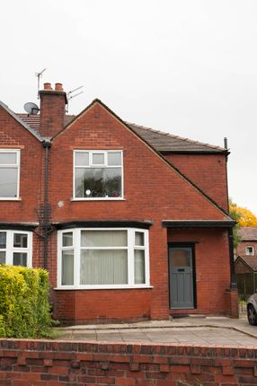 Thumbnail Semi-detached house to rent in Lees Hall Crescent, Fallowfield, Manchester