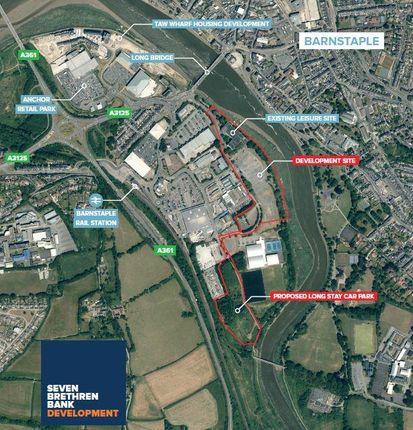 Thumbnail Land for sale in Seven Brethren Bank Development Land, Barnstaple, South West