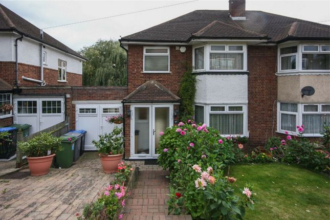 Thumbnail Semi-detached house for sale in Barn Rise, Barn Hill Estate HA9, Wembley, Greater London