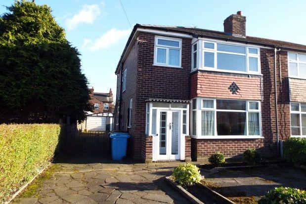Thumbnail Semi-detached house to rent in Hawthorn Avenue, Timperley, Altrincham