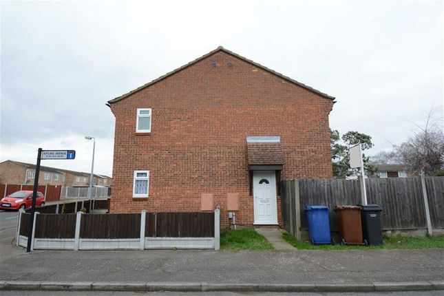Thumbnail End terrace house to rent in Kipling Avenue, Tilbury, Essex
