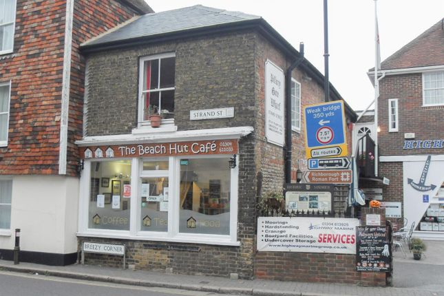 Thumbnail Restaurant/cafe to let in Strand Street, Sandwich