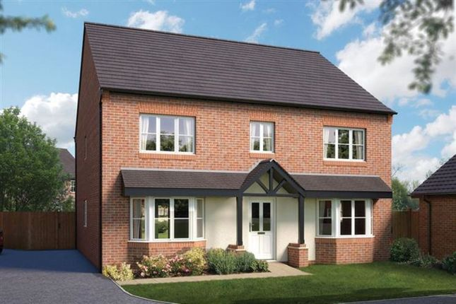 Thumbnail Detached house for sale in Queens Drive, Nantwich