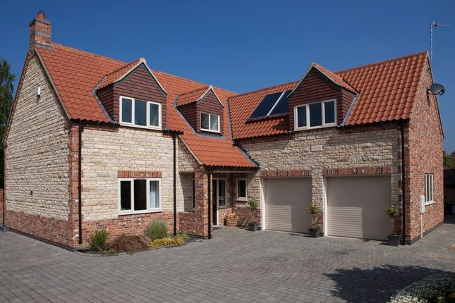 Thumbnail Detached house for sale in Angel Court, Ancaster, Grantham