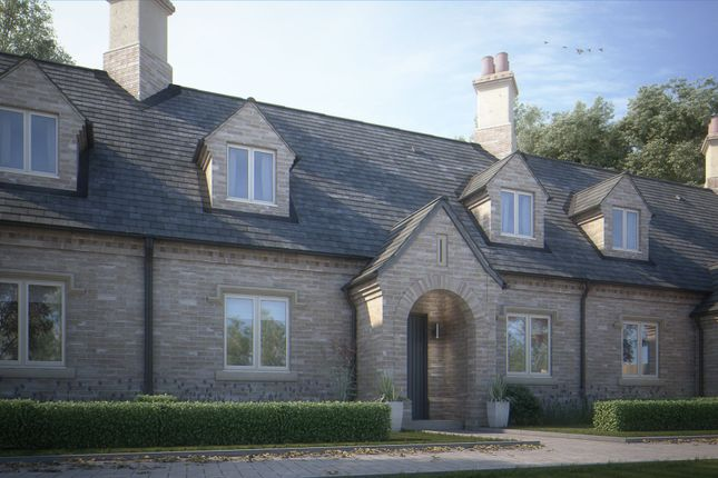 Thumbnail Terraced house for sale in Central Avenue, Brampton, Huntingdon