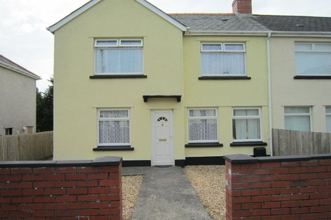 Thumbnail Semi-detached house for sale in Coed-Y-Moeth Road, Aberbargoed