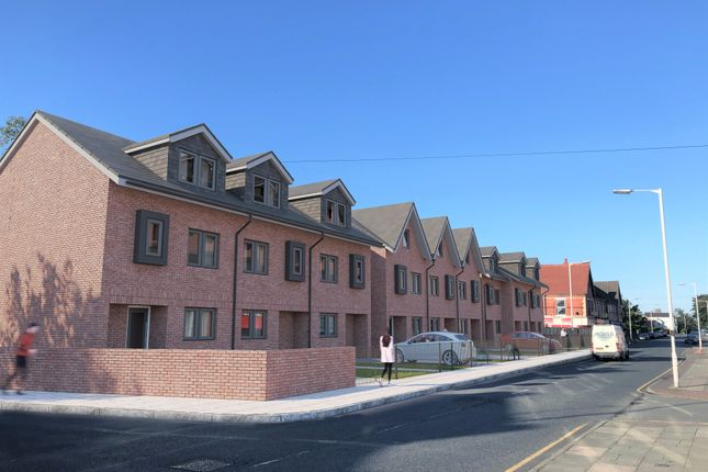 Thumbnail Town house for sale in Mount Pleasant Road, Wallasey, Merseyside