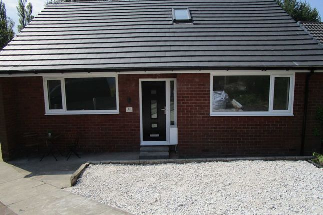 Thumbnail Detached bungalow for sale in Manor Drive, Royton, Oldham