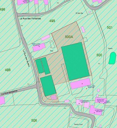 Thumbnail Land for sale in La Rue Du Rue, St. Martin, Jersey