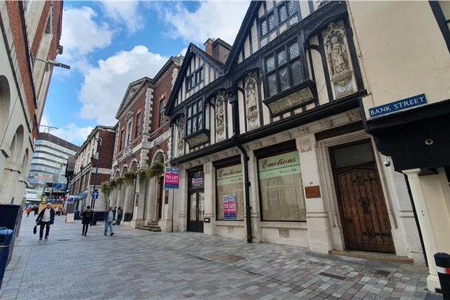 Thumbnail Retail premises to let in 89, Bank Street, Maidstone, Kent