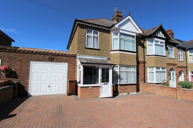 Thumbnail Semi-detached house to rent in Hunters Way, Gillingham, Kent