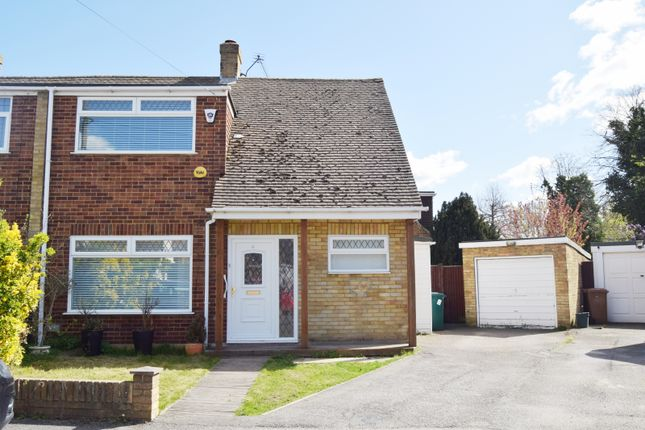 Thumbnail Semi-detached house for sale in Deridene Close, Stanwell, Staines