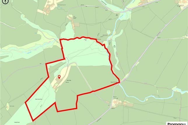 Land Plan of Blacko Bar Road, Roughlee, Nelson BB9